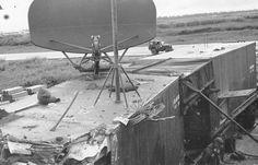 GCA hit by A-1E shot down by shrapnel Nien Tuey SVN Christmas 1966 v