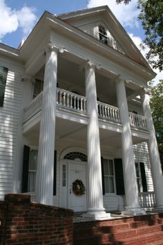 The Cline House Downtown Milledgeville Also Former Home Of Writer Flannery OConner