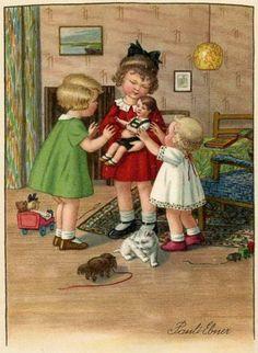 Pauli Ebner (1873-1949) — Old Post Cards (500x683)