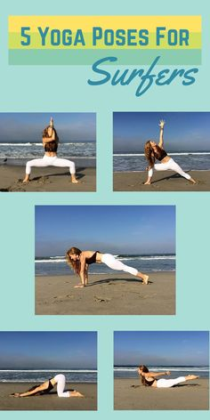 Yoga poses that build core AND make you a better surfer! Catch more waves with these asanas.