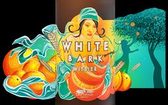 White Bark Witbier on Behance