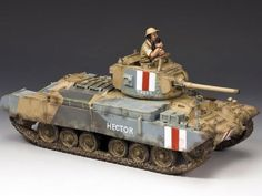 World War II British Army EA078 Valentine Mark III Tank set - Made by King and Country Military Miniatures and Models. Factory made, hand assembled, painted and boxed in a padded decorative box. Excellent gift for the enthusiast.