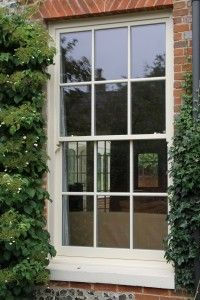 Traditional Box Sash Window - pinned this purely because it's just like my kitchen window <3