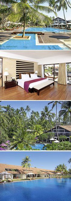 Met een prachtige ligging aan het strand, moderne kamers en een bijzondere mix van een moderne en 18e eeuwse stijl is Avani Bentota Resort & Spa een populaire accommodatie in ons aanbod. Dit viersterren hotel op Sri Lanka – met o.a. een zwembad, restaurant, diverse sportfaciliteiten en een wellnesscentrum – heeft alles in huis voor een ontspannen zonvakantie.