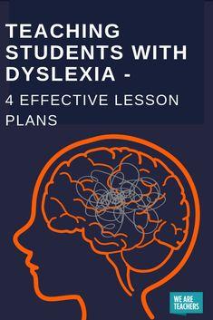 Teaching Students with Dyslexia – 4 Effective Lesson Plans  #dyslexia #dyslexiasignsandsymptoms #dyslexiastrategies #dyslexiateaching #dyslexiatreatment #dyslexialearning #dyslexiacause #dyslexiadiagnosis #dyslexiasignsof #dyslexiaactivities #dyslexiateaching #dyslexiakids #dyslexiaawarness #dyslexiaparents #dyslexiaadult #dyslexiastrategies