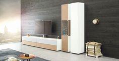Spectral Ameno TV-Möbel Holz & weiß in Wohnlandschaft bei Funkhaus Küchenmeister. Mehr Infos jederzeit auf unserer Website.