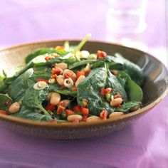 Learn how to make Spinach, White Bean, and Bacon Salad with Maple-Mustard Dressing. MyRecipes has 70,000+ tested recipes and videos to...