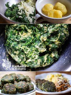 Výtečné, jemňoučké špenátové jídlo, doporučuji! Spaříme 750 g listového špenátu (nebo rozmrazíme zmrazený a necháme překapat přes síto). Vy... Palak Paneer, Avocado Toast, Broccoli, Meal Prep, Diabetes, Vegan Recipes, Food And Drink, Health Fitness, Lunch