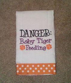 How precious for all of those Clemson Tiger babies!