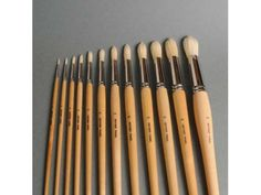 Borst runde kunstnerpensler str. 2 - 24 (Arkivprodukter) Brushes, Circuit, Paint Brushes, Makeup Brush