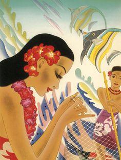 Frank McIntosh vintage Hawaii