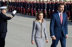 Queen Letizia of Spain: Spanish Royals Receive Michelle Bachelet
