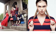 DKNY  Models: Cara Delevingne, Binx Walton, Sam Rollinson und Xiao Wen Ju  Fotograf: Gregory Harris