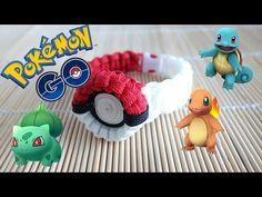 How to Make the Pokemon Go! Pokeball Paracord Bracelet Tutorial - YouTube