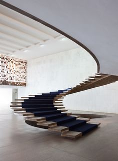 Stairs by Oscar Niemeyer