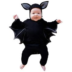 Toddler Newborn Baby Boys Girls Halloween Cosplay Costume Romper Hat O – eosegal Cute Baby Halloween Costumes, Baby First Halloween, Halloween Cosplay, Toddler Halloween, Halloween Horror, Halloween Party, Scary Costumes, Homemade Halloween, Diy Costumes