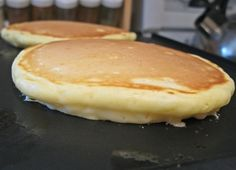 Perfect Pancakes and Strawberry Butter - These pancakes are delicious!