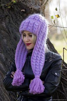 Mittens Pattern, Scarf Hat, Knitted Hats, Knitwear, Winter Hats, Pullover, Knitting, Crochet, Fashion
