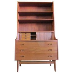 Borge Mogensen Danish Modern Secretary Desk on Chairish.com