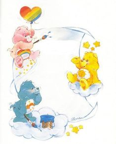 Noelle Christmas uploaded this image to 'Care Bear Graphics/Wish Bear'. See the album on Photobucket. Cute Cartoon Characters, Cartoon Pics, Care Bears Vintage, Care Bear Party, Decoupage, Bear Pictures, Vintage Cartoon, Creative Pictures, Bear Art