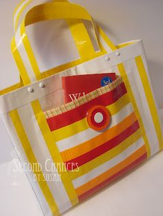 duck-tape bag - need to find a better link but wanted to save the idea. If you like Duct Tape please follow our boards!