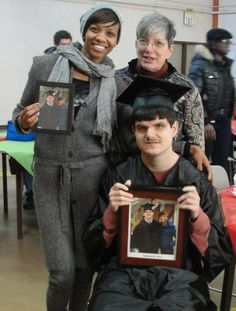Stepping Stones helps student with autism graduate