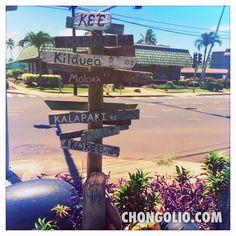 kapaa sign post #chongolio #photofriday15