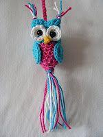 made by missAlien: Uiltjes (en patroon)  FREE Owl Crochet Pattern - Page needs to be translated  #crochet