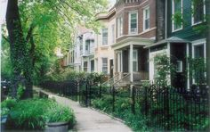 Lincoln Park Neighborhood, Chicago. Keith and I lived here before we were married.