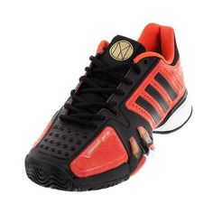 Inspired and worn by Novak Djokovic, the adidas Men's Novak Pro Chinese New Year 2017 features a redesigned seamless construction offering more comfort and a lighter weight. Updated stability claws support lateral movement, while remaining flexible. Complete with symbolisms of Djokovic himself, like his face on the tongue of the shoe, get these Novak Pro shoes before they're gone.