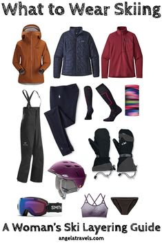 Stay warm and dry with this guide on what to wear skiing plus women's layering tips for skiing at the resort in the winter. What To Wear Snowboarding, Snowboarding Outfit, Layering Outfits, Winter Outfits, Ski Outfits, Skiing, Clothes For Women, Stay Warm, Fashion News