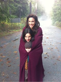 """So cute!"" That's one way to put it. I can't help laughing at the look on Regina's face."