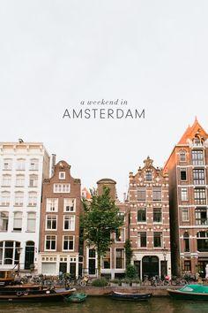 Víkend v Amsterdamu/P