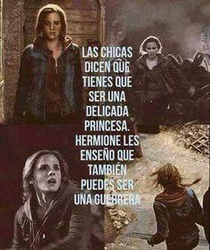 Muy cierto. Vivan las chicas guerreras!!