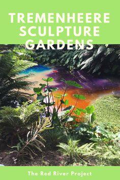 Tremenheere Sculpture Gardens. Amazing Sub Tropical Gardens In Penzance, Cornwall.