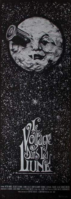 """VEO """"Le Voyage Dans La Lune"""" by Ver Eversum                                                                                                                                                      More Descubra 25 Filmes que Mudaram a História do Cinema no E-Book Gratuito em http://mundodecinema.com/melhores-filmes-cinema/"""