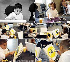 kids party activity/favor