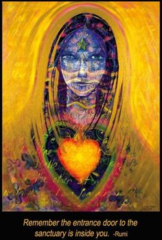 You are the heart of your own religion #Rumi #faith