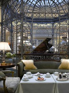 The Savoy is a Fairmont hotel that offers views of the Thames River. From $367 per night.