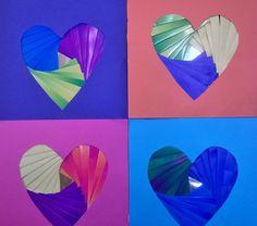 Iris folding- tekniikalla toteutettu isäinpäiväkortti