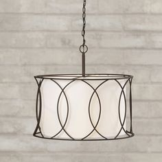 Found it at Wayfair - Tadwick 3 Light Drum Pendant