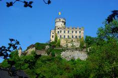 Burg Pyrmont bei Roes in der Eifel von Mohr Wilfried