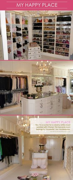 Lisa Vanderpump and I could be BFFs. Especially with this closet. I would go over just to visit it.