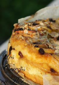 Los cerezos en flor: Pan de Manzana y Crema Pastelera y yAl Olor del Pan!!!!