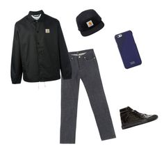 """""""isaiah"""" by fetpro on Polyvore featuring Balenciaga, A.P.C., Carhartt, Native Union, men's fashion and menswear"""