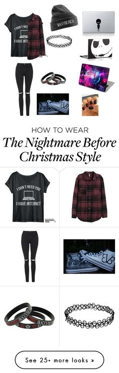 """Untitled #162"" by phanisnotonfire6 on Polyvore featuring H&M, Topshop, women's clothing, women, female, woman, misses and juniors"