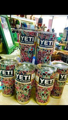 skull YETI cups!!