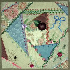 I ❤ crazy quilting & ribbon embroidery . . . Crazy Quilt Twilt ~By shelleyswanland