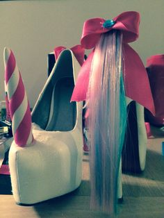 Unicorn heels designed by Serendippityshoes This is my little pony gone too far!