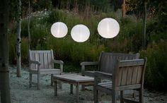 Stylish Outdoor Lighting: Solar Soji Lanterns